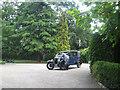 TQ7555 : Austin 12 wedding car by Oast House Archive