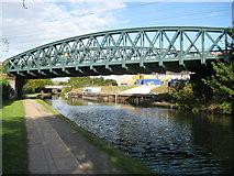 TQ2182 : Grand Union Canal: Former L&NWR bridge by Nigel Cox