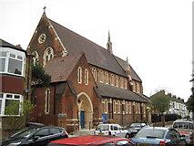 TQ2382 : Kensal Rise: St Martin's Church by Nigel Cox