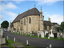 TQ2282 : Kensal Green: St Mary's Roman Catholic Cemetery: The Chapel by Nigel Cox