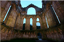 SE2768 : Interior Walls, Fountains Abbey by Mark Anderson