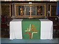 SU1084 : Altar, St Mary's Church, Lydiard Tregoze, Swindon by Brian Robert Marshall