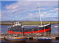 NS3138 : Spartan, Irvine Harbour by wfmillar