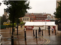 SZ0891 : Bournemouth: craft fair in The Square by Chris Downer