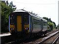 TM4598 : Train for Lowestoft at Haddiscoe station by Glen Denny