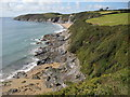 SW8632 : Porthbeor Beach by Philip Halling