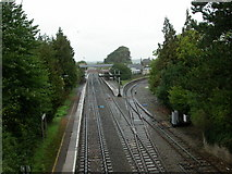 ST9897 : Kemble, railway lines by Mike Faherty