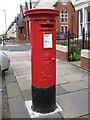 NZ2264 : Edward VII postbox, Wingrove Road / Hadrian Road, Fenham , NE4 by Mike Quinn