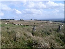 NS5876 : Standing stones on Craigmaddie Muir by Stephen Sweeney