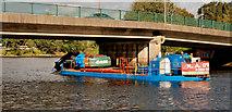 J3371 : Dredging the River Lagan, Belfast -  2010/11 (15) by Albert Bridge