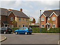 TL3259 : Housing at Chapmans Drive, Great Cambourne by John Brightley