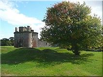 NY0265 : Caerlaverock Castle - by Humphrey Bolton
