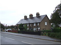 TQ4988 : Cottages on Romford Road by Malc McDonald