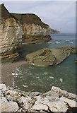 TA2372 : Thornwick cliffs by Paul Harrop