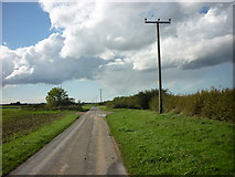 TA1343 : Whins Lane heading East by Ian S
