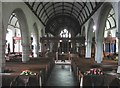 SX2468 : Interior of St. Clarus's church,  St Cleer, Cornwall by Derek Voller