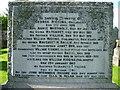 NS8462 : Kirk o' Shotts gravestone by kim traynor