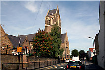 TQ3385 : Stoke Newington:  St. Matthias Church by Dr Neil Clifton