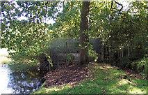 SJ8959 : Side view of the boathouse by Jonathan Kington