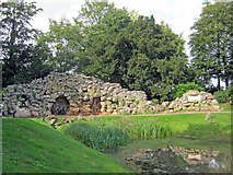 SO8744 : The Grotto at Croome Park by Trevor Rickard