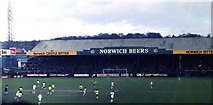 TG2407 : The home end at Carrow Road in 1981 by Steve Daniels