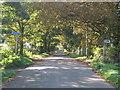 SP1398 : Autumnal walk along Fox Hill Road by Michael Westley
