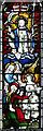 TF6923 : All Saints' church in Roydon - east window by Evelyn Simak