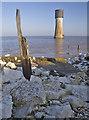 TA4011 : Spurn low lighthouse by Paul Harrop