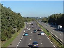 TQ1362 : The A3 heading towards London by Alan Hunt