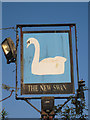 TQ7928 : The New Swan sign by Oast House Archive
