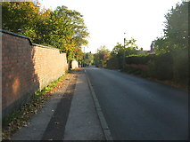 SP3177 : Bates Road, resurfaced by E Gammie