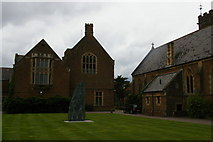 SS9712 : Tiverton: Blundells School, south side of chapel and main school by Christopher Hilton