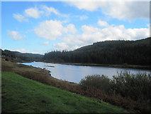 SH7157 : Llynnau Mymbyr looking towards Capel Curig by John Firth