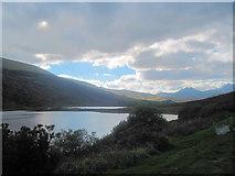 SH7157 : Llynnau Mymbyr westwards by John Firth