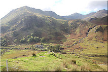 SH6554 : Pipeline and works across Nant Gwynant by John Firth