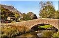 NY4805 : Sadgill Bridge by Arnold Price