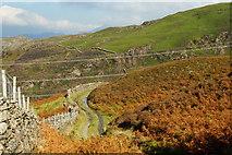 SH6337 : View Towards Moel Tecwyn, Gwynedd by Peter Trimming