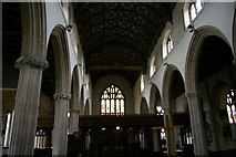 ST0207 : Cullompton Church: nave from west end by Christopher Hilton