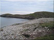 HU6872 : Shoreline of Bay on West Isle by Conor Bolas