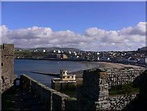 SC2484 : Peel Bay seen from the castle (1) by Shazz
