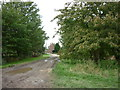 SE8421 : Houses near Garthorpe Grange by Ian S