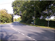 SD5114 : Barmskin Lane is joined by Bentley Lane by Raymond Knapman