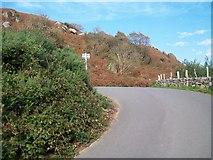 SH2428 : The new exit road from Treheli by Eric Jones