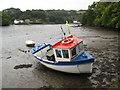 SW7725 : Boat in Gillan Creek by Philip Halling