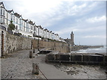 SW6225 : Part of Porthleven Harbour by Jeremy Bolwell