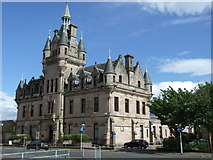 NS2776 : Greenock Sheriff Court by Robert Currie