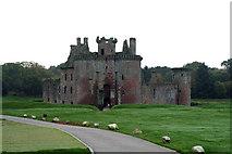 NY0265 : Caerlaverock Castle by Dr Neil Clifton