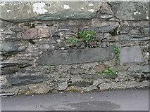 NY3704 : Ambleside Stockgill Bridge cut bench mark by Brian Westlake