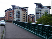 NS5666 : Benalder Street bridges by Thomas Nugent