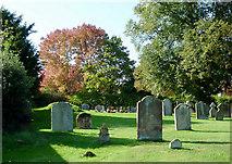 SO8090 : Churchyard at Bobbington, Staffordshire by Roger  Kidd